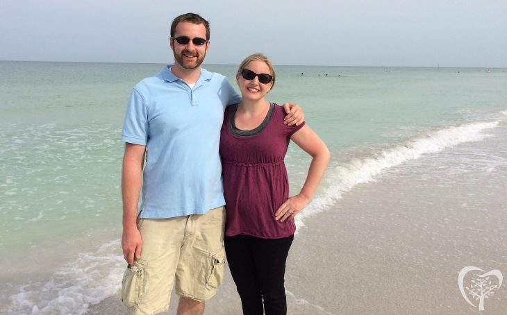 Dr. Draper and Mrs. Draper at Clearwater Beach